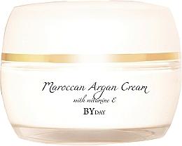 Düfte, Parfümerie und Kosmetik Intensiv feuchtigkeitsspendende und pflegende Tagescreme für normale und trockene Haut mit Vitamin C - Nacomi Moroccan Argan Cream With Vitamin E