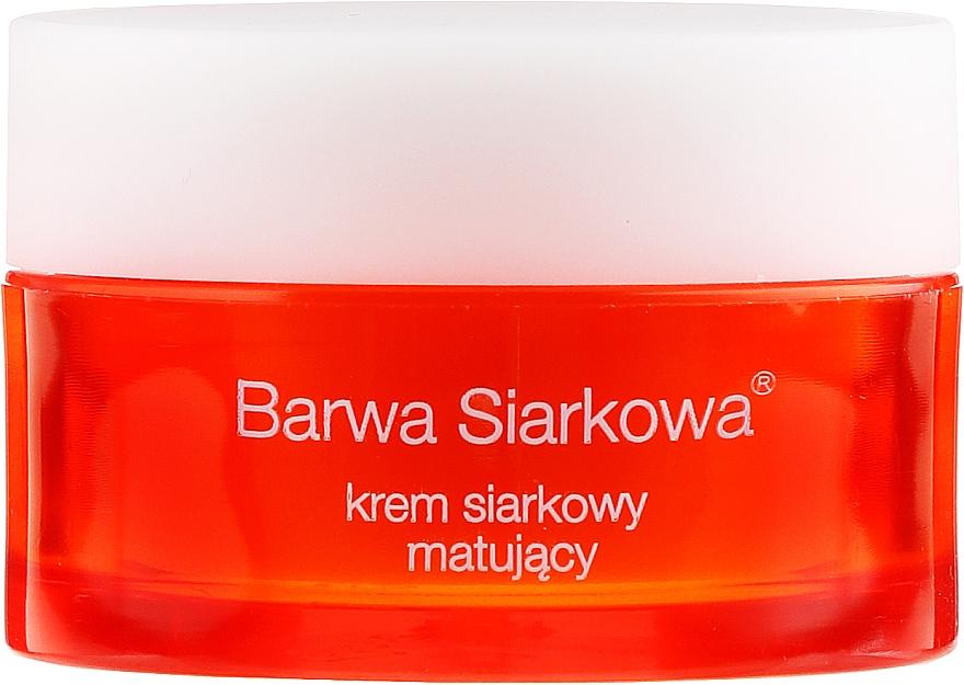 Mattierende Gesichtscreme mit Schwefel - Barwa Anti-Acne Cream Sulfuric — Bild N3