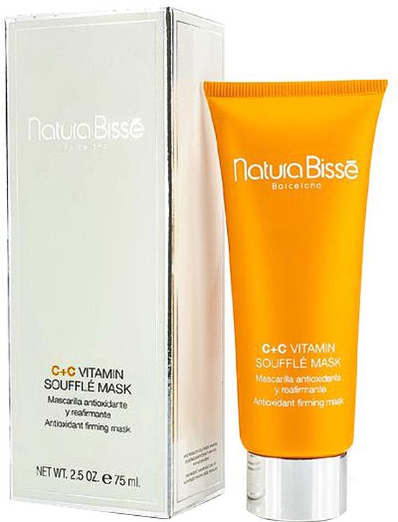 Reichhaltige Gesichtsmaske mit Antioxidantien, Vitamin C und Bitterorangenextrakt - Natura Bisse C+C Vitamin Souffle Mask