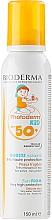 Düfte, Parfümerie und Kosmetik Sonnenschutz-Schaum für empfindliche Kinderhaut ab 12 Monaten SPF 50+ - Bioderma Photoderm KiD Mousse SPF 50+