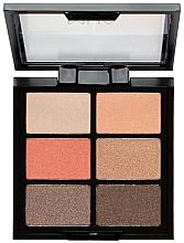 Düfte, Parfümerie und Kosmetik Lidschattenpalette - MUA 6 Shade Palette