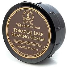 Düfte, Parfümerie und Kosmetik Rasiercreme mit Tabakduft - Taylor of Old Bond Street Tobacco Leaf Shaving Cream Bowl