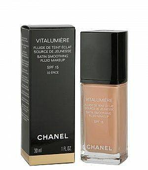 Mildes flüssiges Make-up mit LSF 15 - Chanel Vitalumiere Fluide SPF15