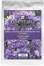 Düfte, Parfümerie und Kosmetik Augenmaske mit Rosmarin - Orientana Eye Silk Pad Rosemary