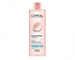 Düfte, Parfümerie und Kosmetik Gesichtslotion für normale und Mischhaut mit Extrakten aus Rosen- und Jasminblüten - L'oreal Paris Cleansing Lotion