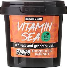 "Düfte, Parfümerie und Kosmetik Anti-Cellulite Badesalze ""Vitamin Sea"" - Beauty Jar Anticellulite Bath Salt"