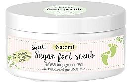 Düfte, Parfümerie und Kosmetik Zucker Fußpeeling mit grünem Tee - Nacomi Sugar Foot Peeling