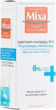Düfte, Parfümerie und Kosmetik Feuchtigkeitscreme für normale und Mischhaut - Mixa Sensitive Skin Expert 24 HR Moisturising Cream