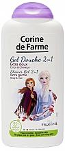 """Düfte, Parfümerie und Kosmetik 2in1 Duschgel & Shampoo """"Die Eiskönigin"""" - Corine de Farme Frozen"""