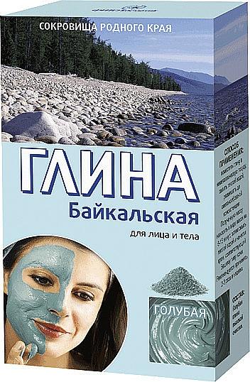 Blaue Tonerde für Gesicht und Körper aus dem Baikalsee - Fito Kosmetik