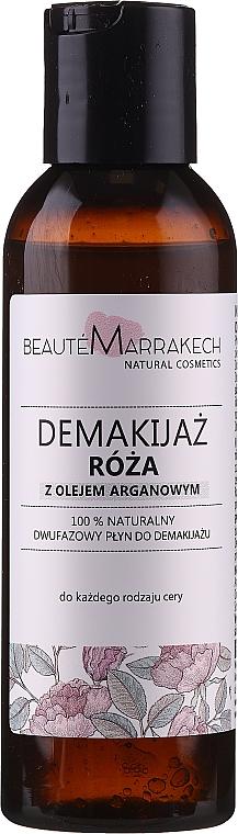 2-phasiger Makeup Entferner mit Rosenduft - Beaute Marrakech Natural Two-phase Make-up Remover Rose