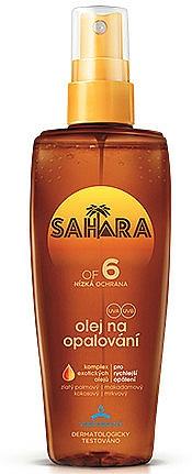 Sonnenschutzöl SPF 6 - Astrid Sahara Suncare Spray Oil SPF 6 — Bild N1