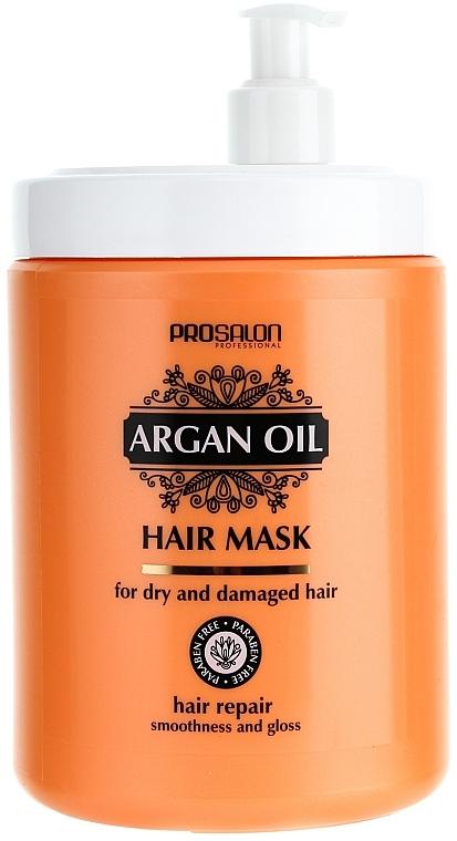 Regenerierende Haarmaske mit Arganöl - Prosalon Argan Oil Hair Mask