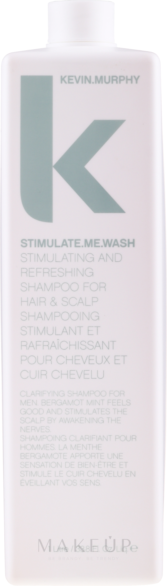 Erfrischendes Männershampoo - Kevin.Murphy Stimulate-Me Wash — Bild 1000 ml