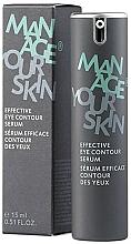 Düfte, Parfümerie und Kosmetik Straffendes revitalisierendes und glättendes Serum für die Augenpartie - Dr. Spiller Manage Your Skin Effective Eye Contour Serum