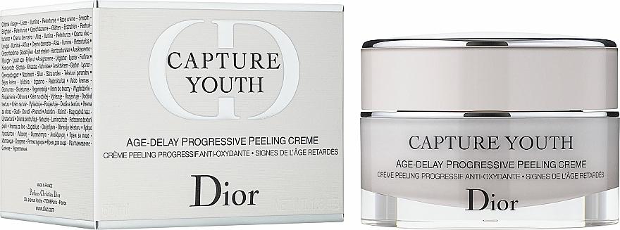 Progressive Peeling-Creme - Dior Capture Youth Age-Delay Progressive Peeling Creme