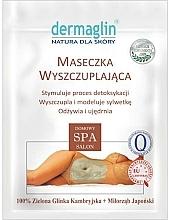 Düfte, Parfümerie und Kosmetik Straffende modellierende und entgiftende Körpermaske zum Abnehmen mit grüner Tonerde - Dermaglin