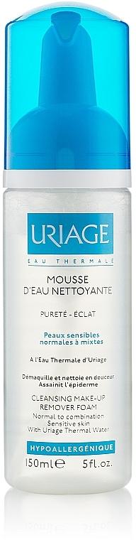 Gesichtsreinigungsschaum zum Abschminken für normale, gemischte und empfindliche Haut - Uriage Cleansing Make-up Remover Foam