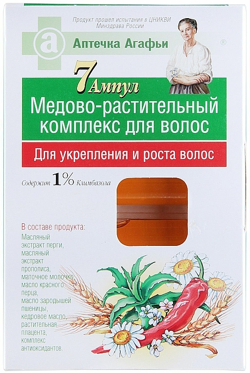 Stärkende pflanzliche Behandlung zum Haarwachstum mit Propolisextrakt - Rezepte der Oma Agafja
