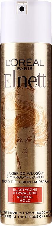 Haarlack - L'Oreal Paris Elnett De Luxe Haarspray Flexible Consolidation