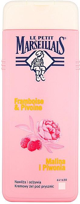 Cremiges Duschgel Himbeere und Pfingstrose - Le Petit Marseillais