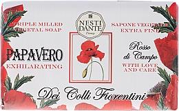 Düfte, Parfümerie und Kosmetik Naturseife Poppy - Nesti Dante Intoxicating Soap Dei Colli Fiorentini Collection