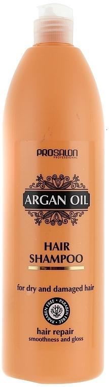 Shampoo mit Arganöl für trockenes und strapaziertes Haar - Prosalon Argan Oil Shampoo