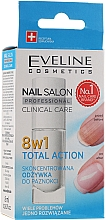 Düfte, Parfümerie und Kosmetik 8in1 Intensive Nagelpflege - Eveline Cosmetics Nail Salon Clinical Care 8 in 1