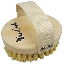 Düfte, Parfümerie und Kosmetik Anti-Cellulite Massagebürste für den Körper mit Kaktusfaserborsten und Griff aus Baumwolle - Deni Carte