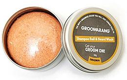 Düfte, Parfümerie und Kosmetik Festes Bartshampoo - Groomarang Shampoo Ball & Beard Wash