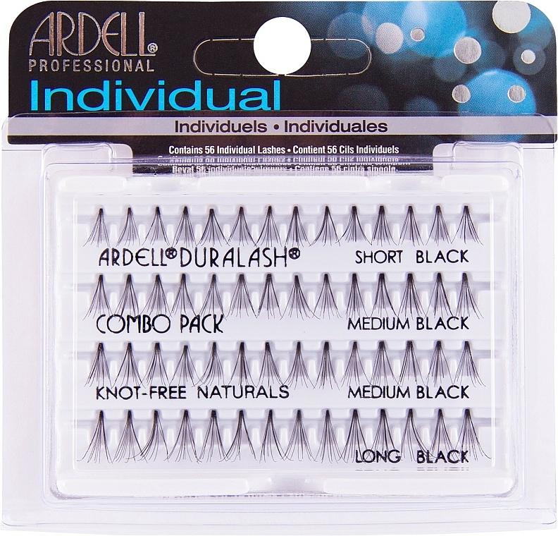 Wimpernbüschel-Set - Ardell Individual Combo Pack