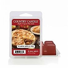 Düfte, Parfümerie und Kosmetik Duftwachs - Country Candle Warm Apple Pie Wax Melt
