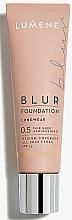 Düfte, Parfümerie und Kosmetik Langanhaltende Foundation für alle Hauttypen SPF 15 - Lumene Longwear Blur Foundation SPF 15