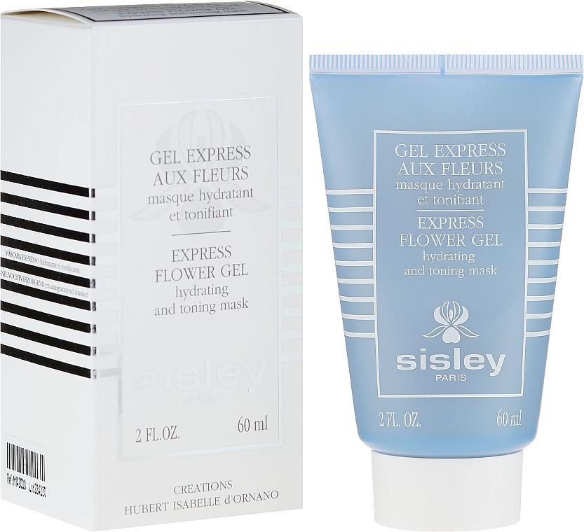 Feuchtigkeitsspendende Express-Gesichtsmaske - Sisley Gel Express Aux Fleurs Express Flower Gel