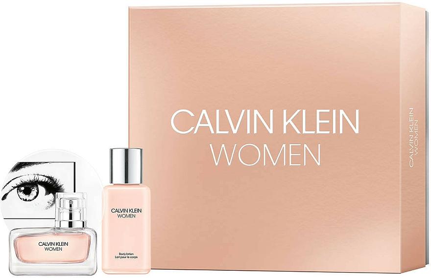 Calvin Klein Women - Duftset (Eau de Parfum 30ml + Körperlotion 100ml)