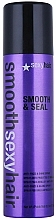 Düfte, Parfümerie und Kosmetik Anti-Frizz Haarspray für mehr Glanz - SexyHair SmoothSexyHair Smooth and Seal Anti-Frizz and Shine Spray
