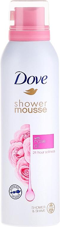 Duschschaum mit Rosenöl - Dove Rose Oil Shower Mousse