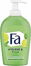 Düfte, Parfümerie und Kosmetik Antibakterielle Flüssigseife Limette - Fa Hygiene & Freshness Orange Liquid Soap