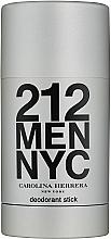 Düfte, Parfümerie und Kosmetik Carolina Herrera 212 For Man NYC - Parfümierter Deostick