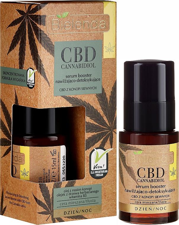 Gesichtsserum mit Cannabisöl und Vitamin B3 - Bielenda CBD Cannabidiol Serum