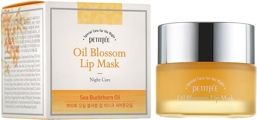 Lippenmaske mit Vitamin E und Sanddornöl - Petitfee&Koelf Oil Blossom Lip Mask