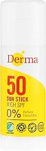 Düfte, Parfümerie und Kosmetik Sonnenschutz-Stick für empfindliche Bereiche SPF 30 - Derma Sun Sun Stick High SPF50