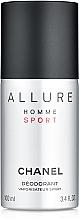 Düfte, Parfümerie und Kosmetik Chanel Allure Homme Sport - Deospray