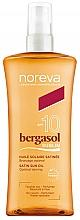 Düfte, Parfümerie und Kosmetik Sonnenschutzöl für den Körper SPF 10 - Noreva Laboratoires Bergasol Sublim Satiny Sun Oil SPF10