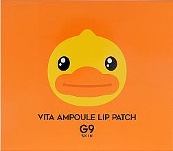 Düfte, Parfümerie und Kosmetik Feuchtigkeitsspendende und pflegende Lippenpatches mit Avocadoöl und Grapefruitextrakt 5 St. - G9Skin Vita Ampoule