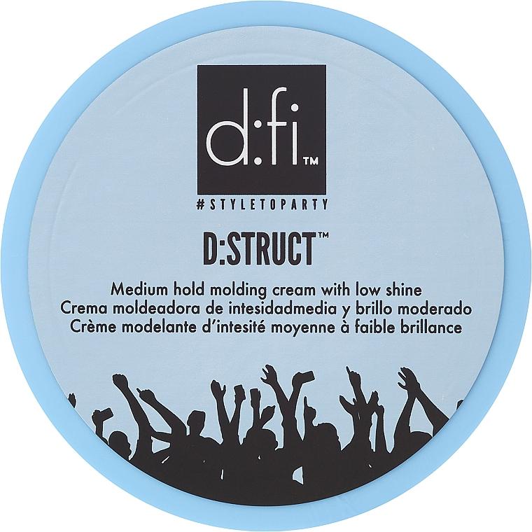 Haarstylingcreme mit mittlerem Halt und natürlichem Glanz - D:fi D:struct Medium Hold Molding Cream