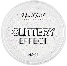 Düfte, Parfümerie und Kosmetik Glitzerpulver für Nageldesign - NeoNail Professional Glittery Effect