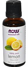 Düfte, Parfümerie und Kosmetik Ätherisches Öl Zitrone - Now Foods Essential Oils 100% Pure Lemon