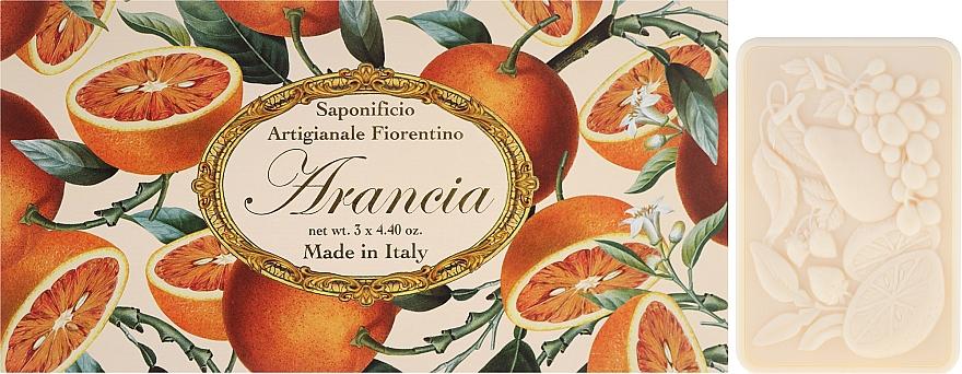 Naturseifen Geschenkset 3 St. - Saponificio Artigianale Fiorentino Orange (3x125g)