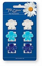 Düfte, Parfümerie und Kosmetik Haarspangen 24153 Farb-Mix 6 St. - Top Choice